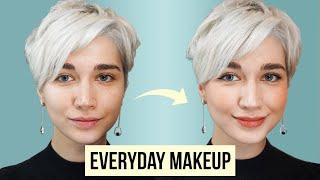 Ежедневныи макияж 5 продуктами Everyday makeup