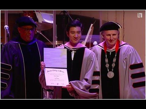 Wang Leehom Receives Berklee Honorary Doctorate