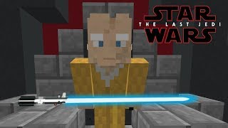 Minecraft StarWars: The Last Jedi (Snoke's Death) Scene Recreation
