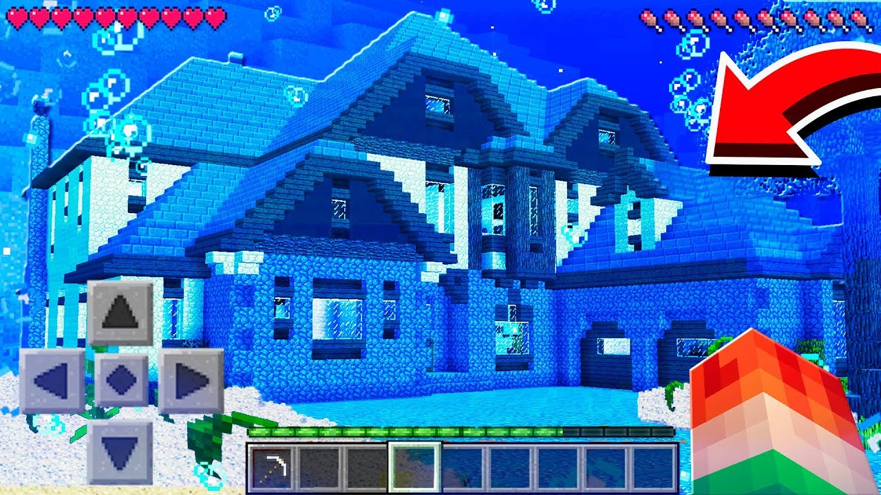 World S Largest Underwater Pe Minecraft House Youtube