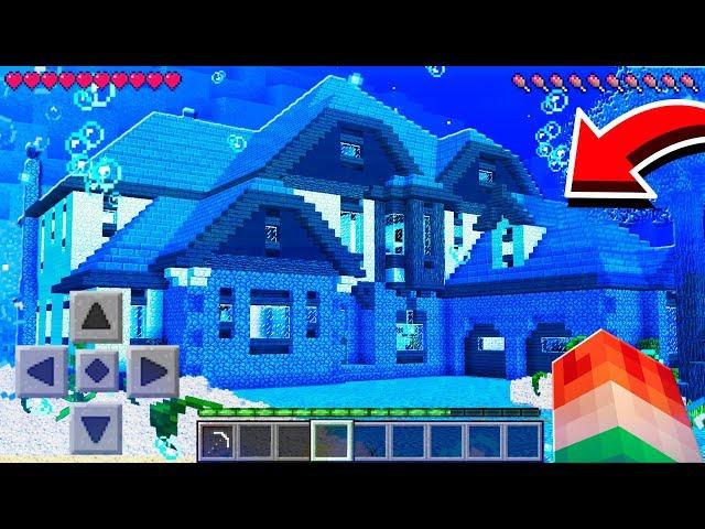 WORLD'S LARGEST UNDERWATER PE MINECRAFT HOUSE!