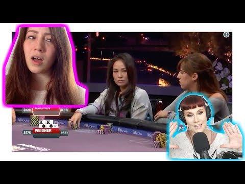 Poker Pro Melanie Weisner Analyzes Hand Against Tracy Nguyen