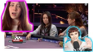 Poker Pro Melanie Weisner Analyzes Hand Against Tracy Nguyen
