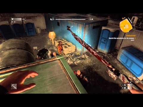 "Dying Light - Broadcast: 2 Demolishers Battle, Keycard & DB Shotgun Location ""Fucking Finally"" PS4"