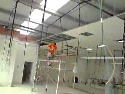 Techo registrable youtube - Como colocar un techo de pladur ...