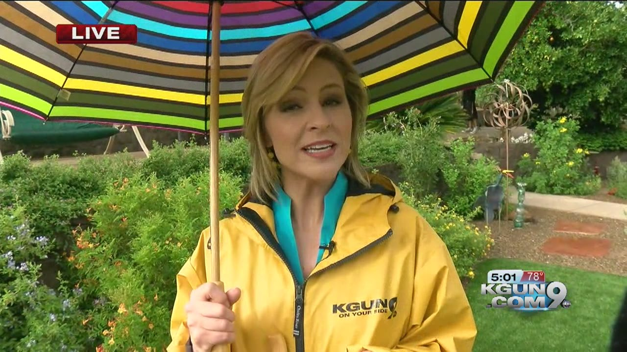 Chief meteorologist erin christiansen s kgun 9 forecast friday august