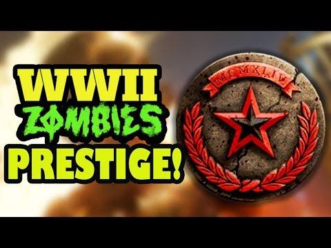 WW2 ZOMBIES - PRESTIGE MODE! WHAT HAPPENS? ZOMBIES Prestige #1 w/ Dalek!