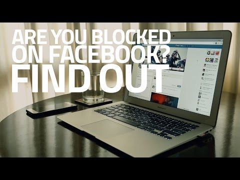 How do you know who youve blocked on facebook