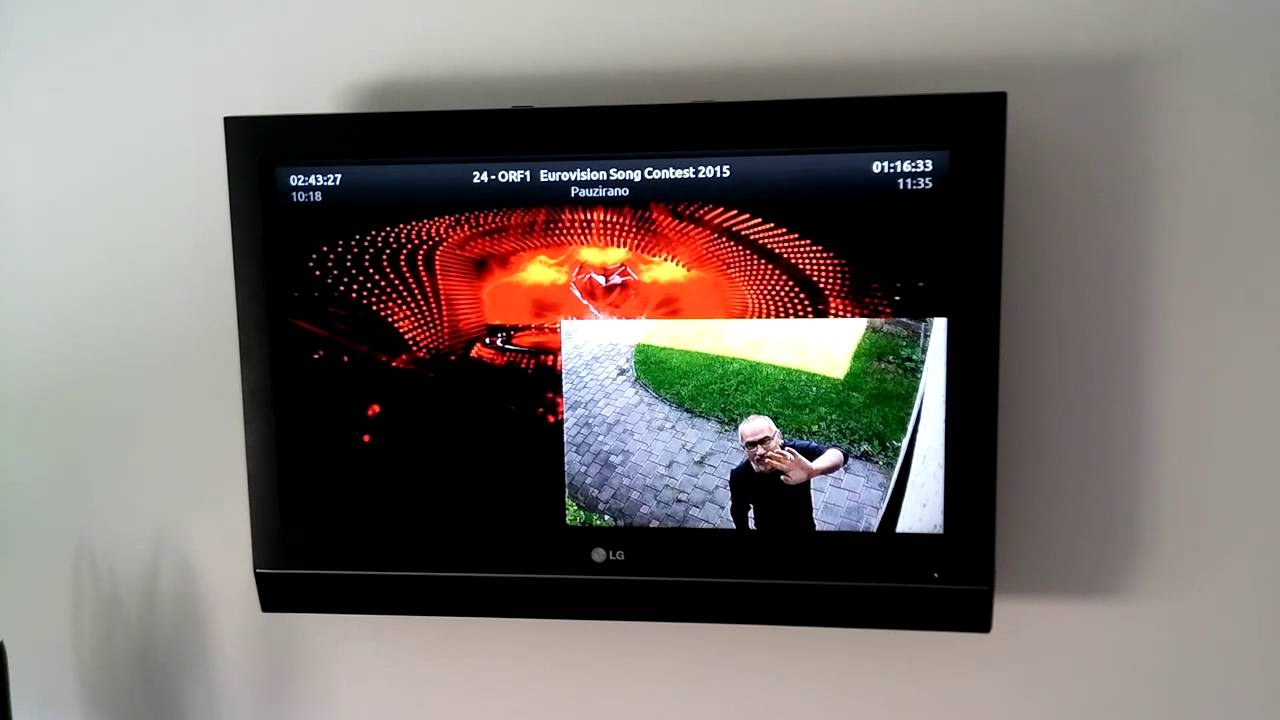 Doorbell home automation (KODI + OpenHAB)