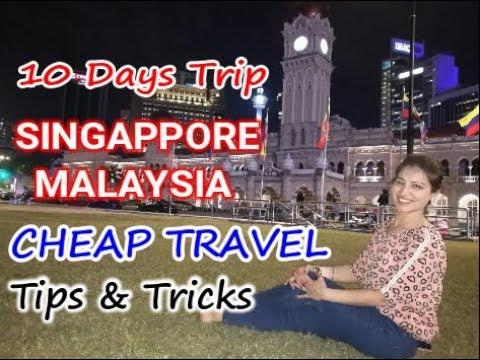 Budget Travel Destinations - Singapore & Malaysia     Cheap Travel Tips & Tricks
