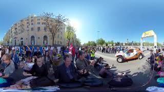 Золото Кагана 2019 панорамное видео 4k 360° - Торжественный старт часть 1