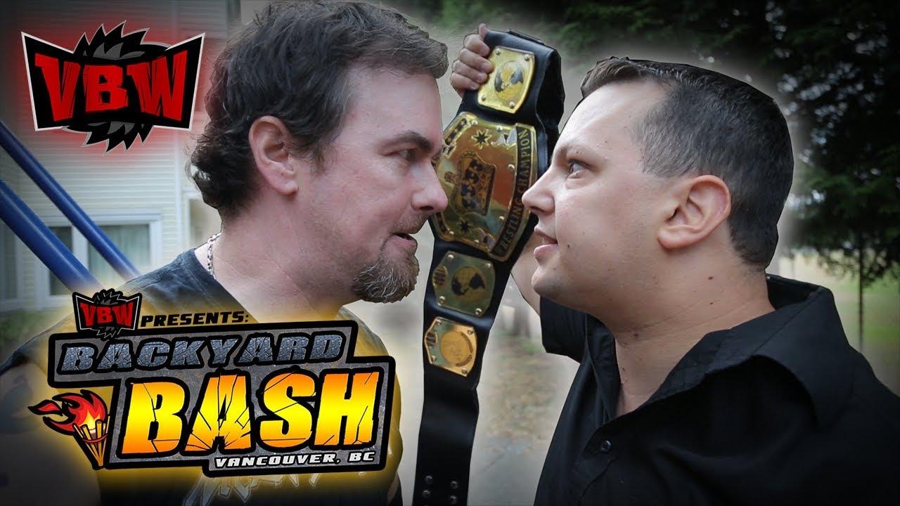 Vbw Season 4 Episode 5 Backyard Bash Backyard Wrestling Youtube