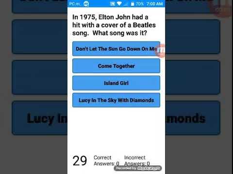 1970s music trivia #1