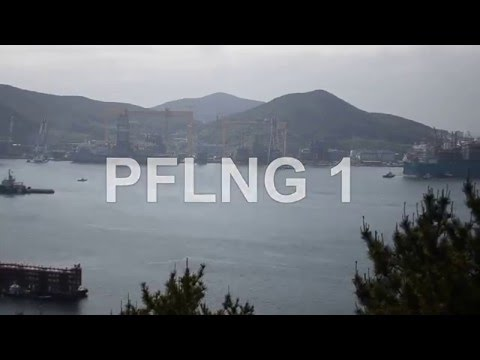 Petronas FLNG 1 sail away - TIMELAPSE