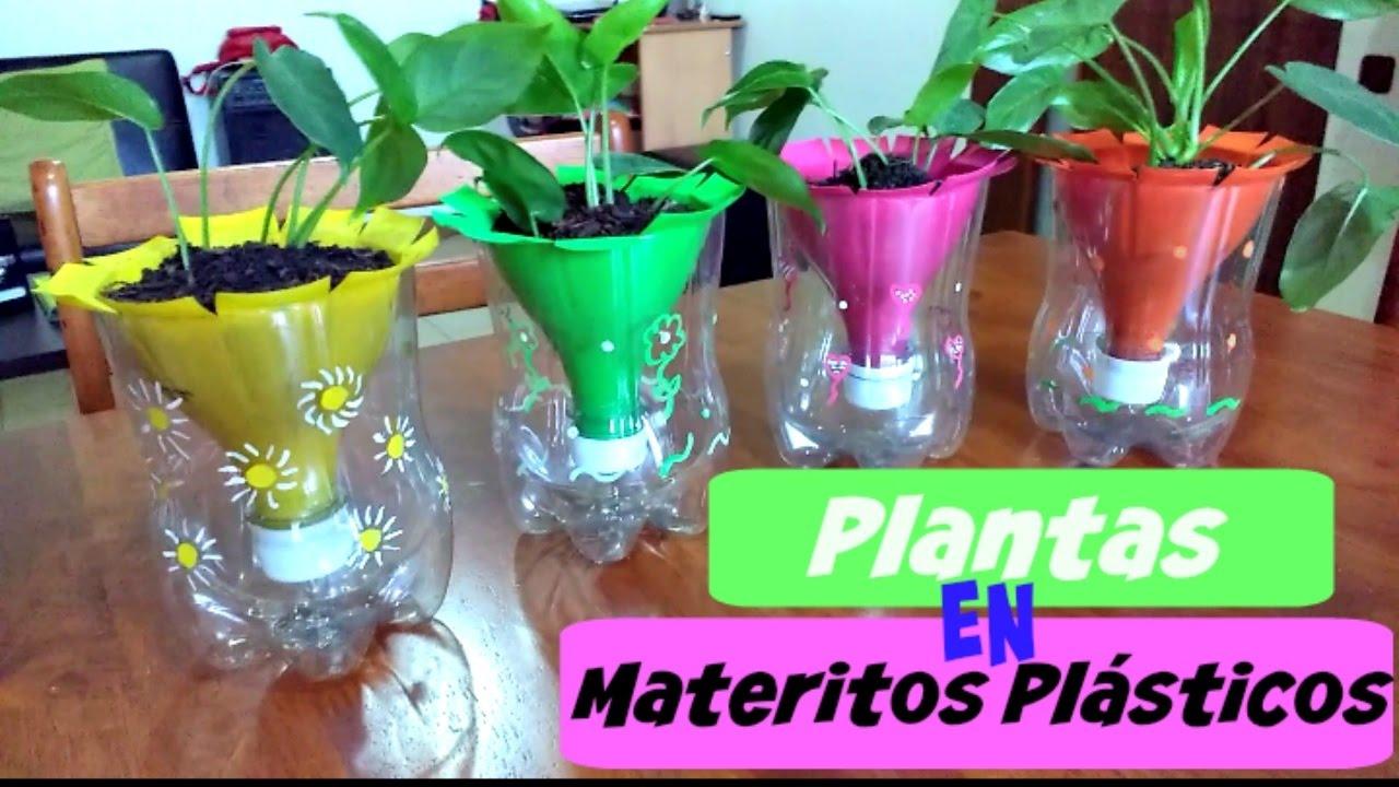 Sembrar plantas en materos pl sticos youtube - Plantas de plastico ikea ...