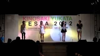 2012年6月9日土曜 兵庫城崎・城崎温泉ロープウェイ入口横特設ステ...