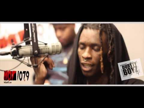 Exclusive Young Thug Premiere - Ew Ew Ew - LIVE