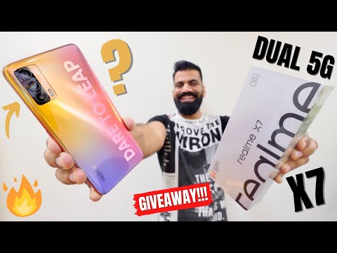 Realme X7 Unboxing & First Look - True Game Changer!!! Giveaway