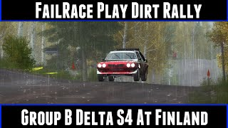 FailRace Play Dirt Rally Group B Delta S4 At Finland