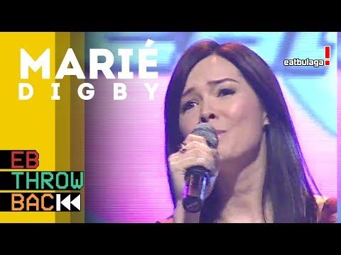 #EBThrowback   Marié Digby at Eat Bulaga! (2009)
