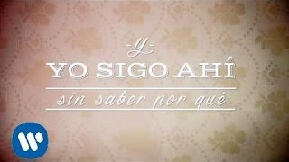 Vanesa Martín - Sin saber por qué (Lyric Video)