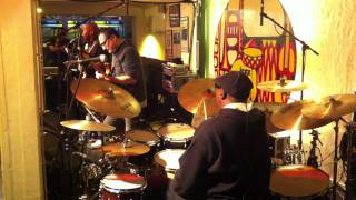 Fourplay / Harvey Mason in rehearsal, Nov. 2011