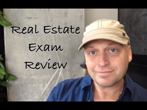 Real Estate Crash Course review the day of the exam.