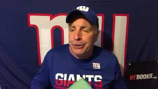 MYBookie.ag Presents The NY Giants Mid-Week Press Conference with Vic Dibitetto: Short Week