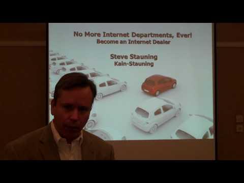 Steve Stauning - No More Internet Departments, Ever  Become an Internet Dealer
