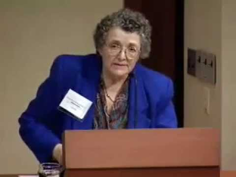 Religion and the Feminist Movement Conference - Panel III: Rosemary Radford Ruether