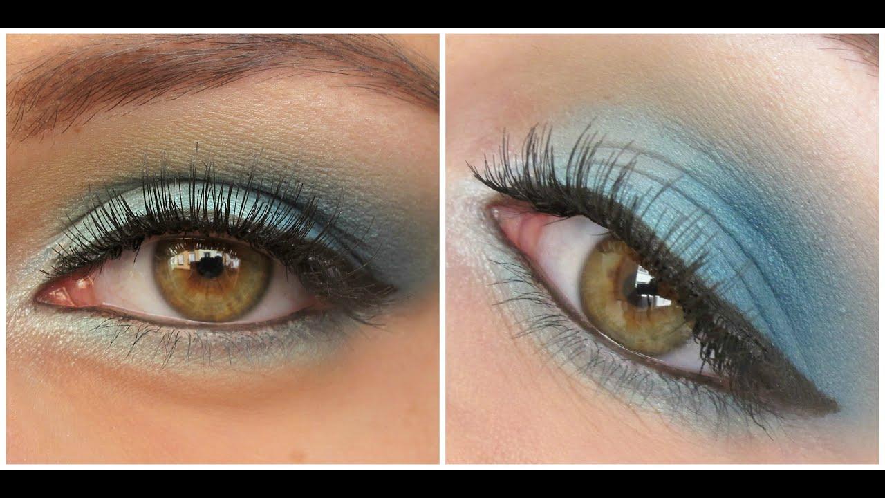 Maquillaje tonos azules blue tones makeup youtube - Tonos azules ...
