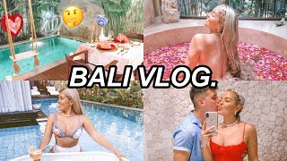 BALI VLOG 🐚✈️ PROPOSAL?! 💍 FAV PLACES TO GO/EAT  IN BALI 🏝🍔 JAZ HAND