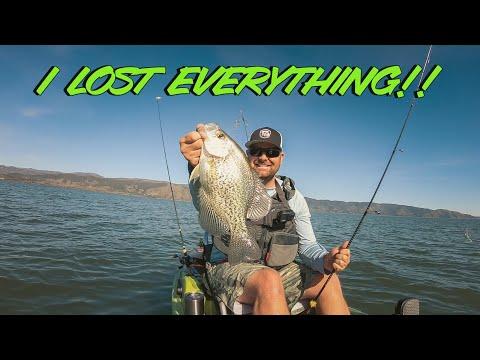 Tim Flips His Kayak In COLD Water!! Spring Bass Fishing FAIL!