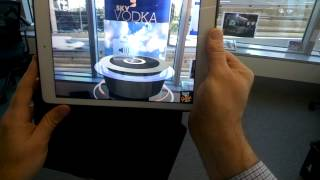 This was a simple demonstration of how augmented reality can turn retail environments into deep engagement experiential sites - using no more than an ar appl...