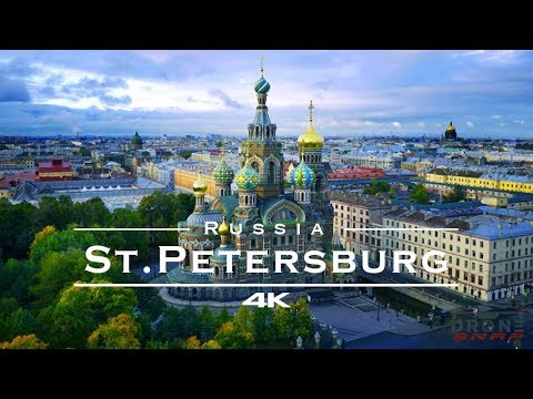 St. Petersburg, Russia 🇷🇺 / Санкт-Петербург, Россия 🇷🇺 - by drone [4K]
