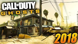 PLAYING COD GHOSTS IN 2018 (COD GHOSTS 5 YEARS LATER - COD GHOSTS HONEY BADGER GAMEPLAY)