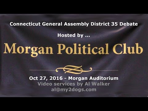 CT General Assembly District 35 Candidates Debate