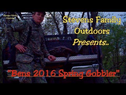 Gobbler from Years Past. Ben's 2016 Spring Gobbler