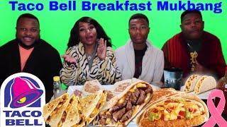 Taco Bell Breakfast Family Taste Test and Mukbang