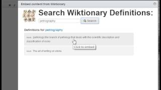 wiktionary example