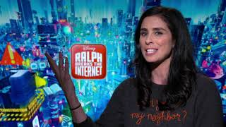 Ralph Breaks the Internet: Sarah Silverman Official Movie Interview