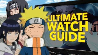 Starting With Naruto In 2020 The Ultimate Watch Guide Youtube