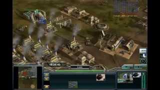 C&C Generals Zero Hour Contra 007 Gameplay