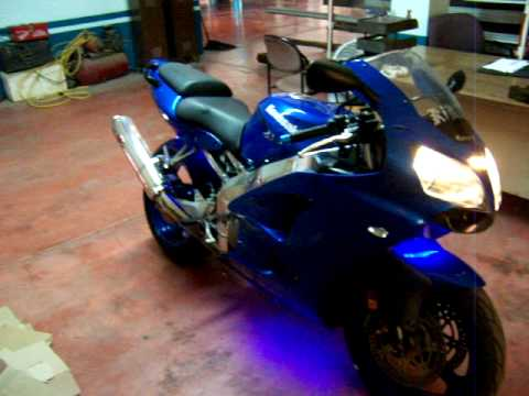 Kawasaki Ninja Zx6r 2001 Youtube