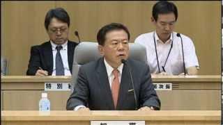 2020年オリンピック・パラリンピック東京開催決定を受け、庁議を開催