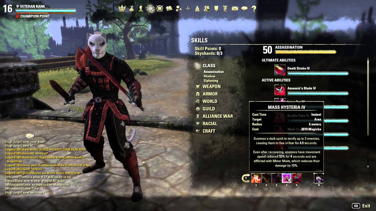 Eso Nightblade Pvp Build