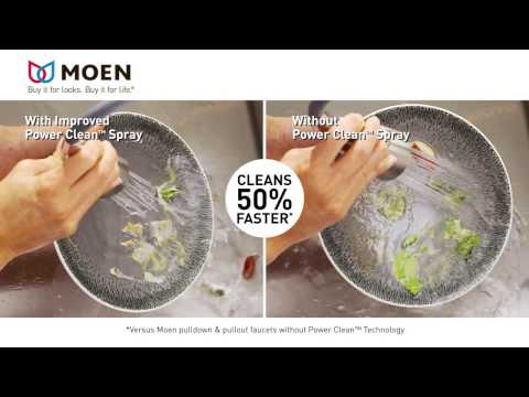 Moen Power Clean Innovation