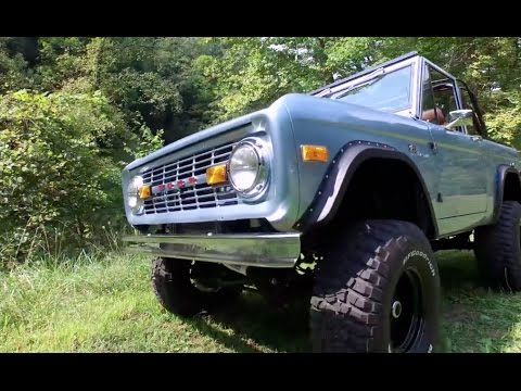 This company beautifully restores classic Ford Broncos using all new parts