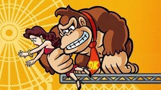 Mario Vs. Donkey Kong: Mini-Land Mayhem - World 4 Plus - Warped Mansion