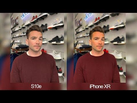 Samsung Galaxy S10e vs iPhone XR Real World Camera Comparison!